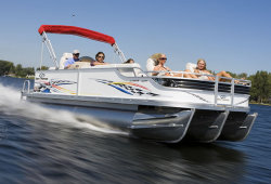 2009 - Crest Pontoon Boats - 22 Crest III XRS