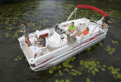 2009 - Crest Pontoon Boats - 22 Super Fisherman