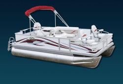 2009 - Crest Pontoon Boats - 18 Pro Angler  LE
