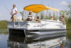 Crest Pontoon Boats - 22 Pro Angler  LE