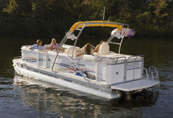 2011 - Crest Pontoon Boats - 27 Caribbean