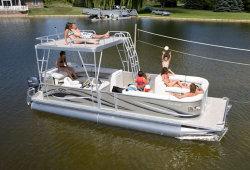 2011 - Crest Pontoon Boats - 25 Crest II LE Upper Sundeck