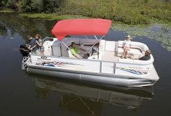 2011 - Crest Pontoon Boats - 18 Pro R  LE