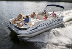 2011 - Crest Pontoon Boats - 22 Crest II XRS Family