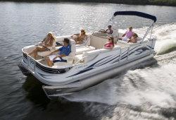2011 - Crest Pontoon Boats - 25 Crest II LE XRS Family
