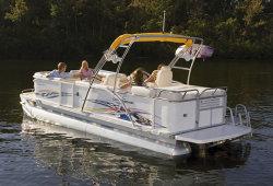 2011 - Crest Pontoon Boats - 25 Caribbean