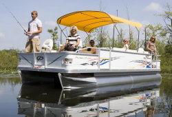 2011 - Crest Pontoon Boats - 22 Pro Angler  LE