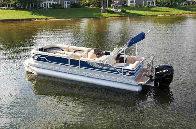 Research 2012 - Crest Pontoon Boats - 230 Caribbean on