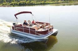 2012 - Crest Pontoon Boats - 210FC Crest II