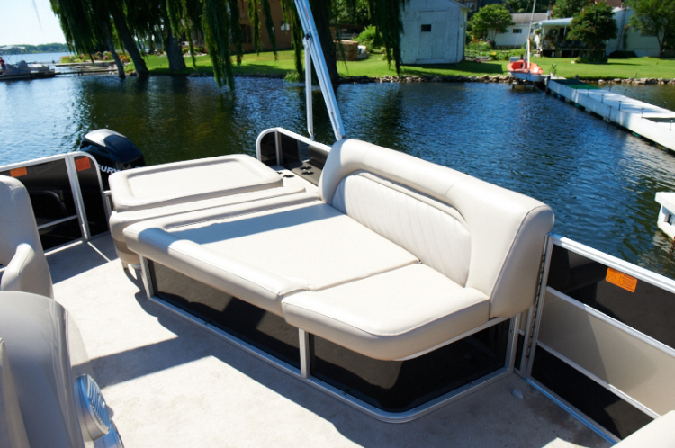 Research 2012 Crest Pontoon Boats 210 Wave Sunsport On