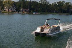 2013 - Crest Pontoon Boats - Savannah 230