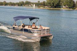 2013 - Crest Pontoon Boats - Caribbean 230 SLX