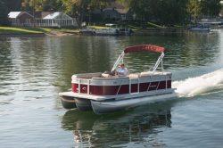 2013 - Crest Pontoon Boats - Wave V210 CC Fish