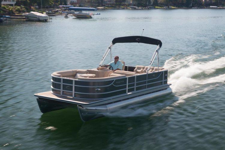 Crest Pontoon Boats >> Research 2014 - Crest Pontoon Boats - Crest II 210 on iboats.com