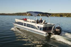 2014 - Crest Pontoon Boats - Classic 210