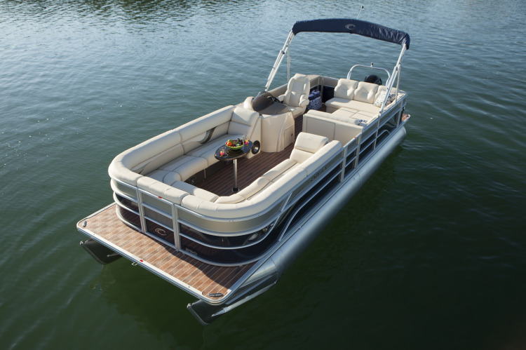 Research 2015 Crest Pontoon Boats Classic 230 Slc On
