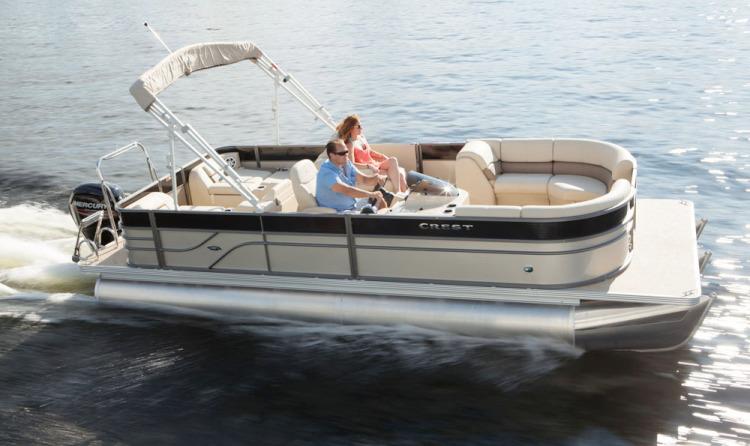 Research 2015 Crest Pontoon Boats Crest Ii 230 On Iboats Com
