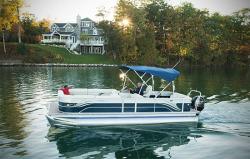 2015 - Crest Pontoon Boats - Classic 250 SLR2