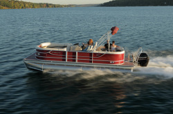 2015 - Crest Pontoon Boats - Crest III 250 SLR2