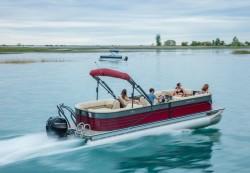 2017 - Crest Pontoon Boats - Crest III 230 SLRC