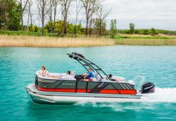 2017 - Crest Pontoon Boats - Caliber 230 SLR2