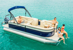 2017 - Crest Pontoon Boats - Crest II 250 SLE