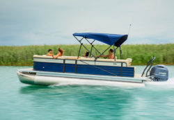 2017 - Crest Pontoon Boats - Crest II 250 SL