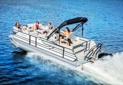 2017 - Crest Pontoon Boats - Classic 230 SLC