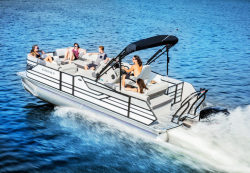 2017 - Crest Pontoon Boats - Classic 250 SLS
