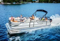 2017 - Crest Pontoon Boats - Classic 250 L