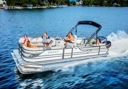 2017 - Crest Pontoon Boats - Classic 250 SLRC