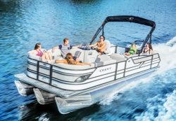 2017 - Crest Pontoon Boats - Classic 250 SLC