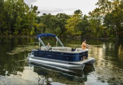 2017 - Crest Pontoon Boats - Crest I Fish 200 SF