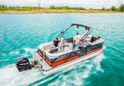 2018 - Crest Pontoon Boats - Caliber 250 SLR2