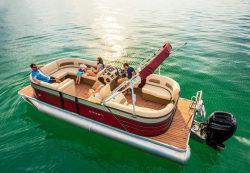 2018 - Crest Pontoon Boats - Crest I 220 SLC