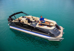 2018 - Crest Pontoon Boats - Savannah 250 SLR2