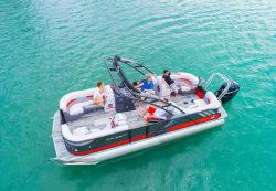 2019-Crest Pontoon Boats- Caliber 250 SLC