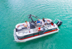 2019-Crest Pontoon Boats- Caliber 250 SLRC