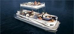 Crest Boats 27 Upper Sundeck Pontoon Boat