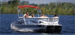 Crest Boats 25 Caribbean Pontoon Boat