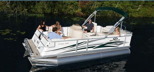 Research Crest Boats 30 Crest III Classic Pontoon Boat on