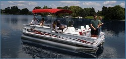Crest Boats 22 Super Fisherman Pontoon Boat