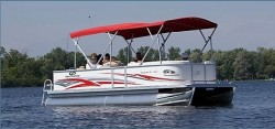 Crest Boats 25 Family Fish R Pontoon Boat