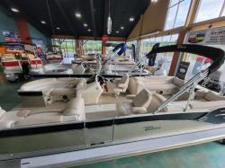 2018 Tahoe Pontoons Cascade Quad Lounge 25'