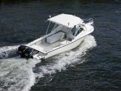 2010 - Dusky Boats - Dusky 256 CSS