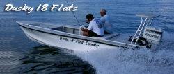 2011 - Dusky Boats - Dusky 18 Flats
