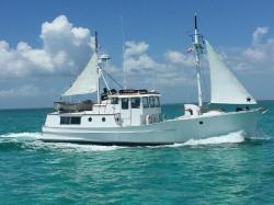 1974 Trawler 50 Fathom Penobscot Pilothouse St. Augustine FL