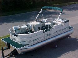 Elete Pontoon Boats 21- Sundeck Rear Entry 2007