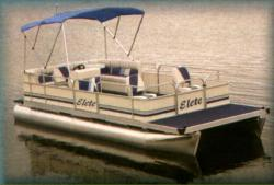 Elete Pontoon Boats 19- Fish 2007