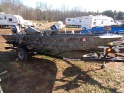Pre-Owned 2014 Triton Duck Boat 1652T